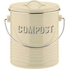 ceramic compost crock compost pail supply gardening pinterest composting compost pail and gardens