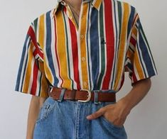 T-shirt & Shirt – youdept Retro Outfits, Cute Casual Outfits, Vintage Outfits, Fashion Pants, 90s Fashion, Fashion Outfits, Aesthetic Fashion, Aesthetic Clothes, Sup Girl