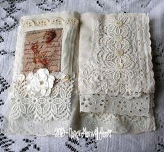 pages from fabric book. Awesome site...free 14 day Valentine crafts tutorials start today 02/01/13
