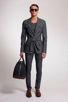 Michael Kors Spring 2014 Menswear Collection Slideshow on Style.com