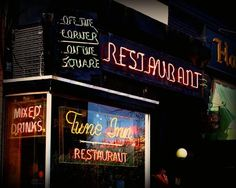 Tune Inn Restaurant, DC - Greasy burgers, mac and cheese wedges AND cheese fries!