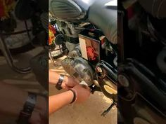 RE CROSS HAIR sticker being applied on royal enfield classic balck Enfield Bike, Enfield Classic, Stickers Online, Royal Enfield, Hair Designs, Custom Stickers, How To Apply, Personalized Stickers, Hair Models