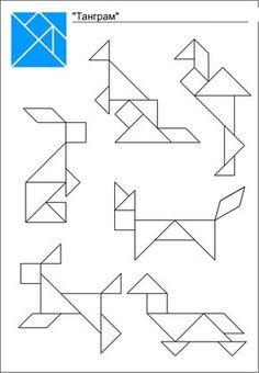 самые простые схемы танграм: 17 тыс изображений найдено в Яндекс.Картинках Educational Activities, Activities For Kids, Origami, Hand Crafts For Kids, First Grade Art, Baby Quiet Book, Montessori Math, Math For Kids, Brain Teasers