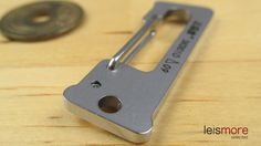 Silver Stainless Steel Lucky Number Key Chain (ONE) / leismore selected #leismore