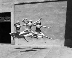 """joeinct: """"Three Dancers, Mills College, Photo by Imogen Cunningham, 1929 """""""