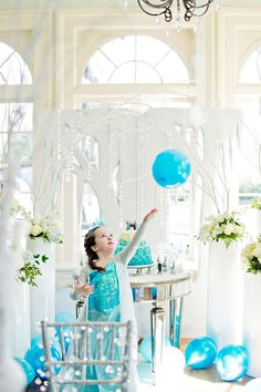 Magical Frozen Themed Birthday Party.