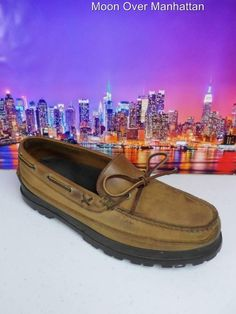 Ralph Lauren Polo Sport brown boat top sider dock deck Mens Shoes sz D Gents Shoes, Sperry Top Sider Men, Sperrys, 5 D, Leather Men, Boat Shoes, Casual Shoes, Polo Ralph Lauren, Deck