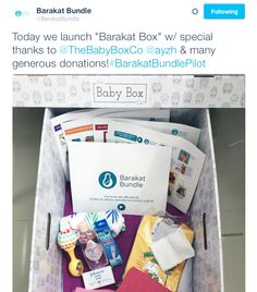 The Baby Box Co. partners with Barakat Bundle to help expecting and new parents in South Asia. #babyboxco