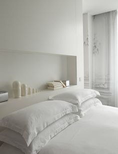 whites + recessed shelf