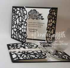 Hi Stampers, Today we will be making this wedding card .  This is the card I made for Whitney & Mike this past weekend .  After I made her card I thought I would make a video for you all on how I made