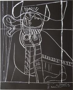 Available for sale from Samhart Gallery, Le Corbusier, d'esprit Lithograph on BFK Rives paper, 56 × cm Le Corbusier, Franz Kline, Modern Art, Contemporary Art, Gouache, Architecture Design, Chinese Architecture, Architecture Office, Futuristic Architecture