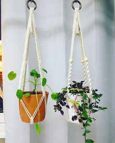 Available in these colors: Ivory, Beige, Gray and White. By default I make plant hangers on natural wooden rings, but you can choose the type of the ring up the top (see the last photo) and notify me in the comments to the order. But please note, I have only natural wooden beads (if
