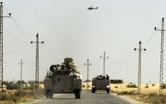 Egyptian Army Launches Massive Sweep Of Militant Hideouts In Sinai near Rafah:  September 10, 2013