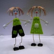 Billedresultat for glaskunst figurer