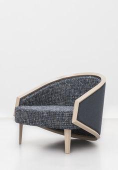 Kokoon Club Chair (ash wood) Sparkx Collection by Jean-Louis Deniot for Marc De Berny (www.marcdeberny.com)