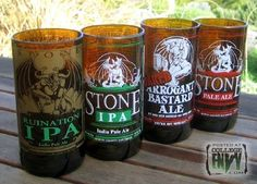 Turn your beer bottles into glass cups! (5 easy steps) - Imgur