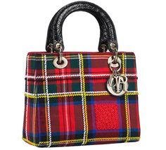 Sac Lady Dior tartan, collection Christian Dior pour Harrods