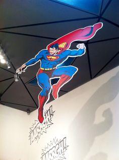 """Expo """"Superhéroes con Ñ"""" en Museo ABC"""