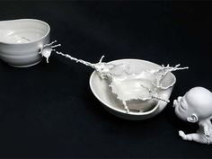 Johnson Tsang's Ceramic sculpture.
