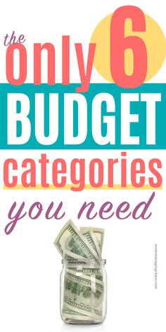 The budget of 6 budget categories For people who suck the budget Do you suck with budgeting? Traditional budgets just not working? Check out this great beginner budget with 6 simple budget categories. Can easily be combined with other methods like Dave Ra Budgeting Finances, Budgeting Tips, Ways To Save Money, Money Saving Tips, Money Tips, Money Budget, Saving Ideas, Plan Budgétaire, Budget Spreadsheet Template