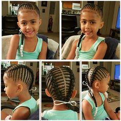 Setting up a hair care regimen for your child Lil Girl Hairstyles, Natural Hairstyles For Kids, Kids Braided Hairstyles, Princess Hairstyles, My Hairstyle, Teenage Hairstyles, Black Hairstyles, Little Girl Braids, Black Girl Braids