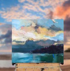 """Morning Swim, Bass Point"" #painting #artgallery #morning #swim #basspoint"