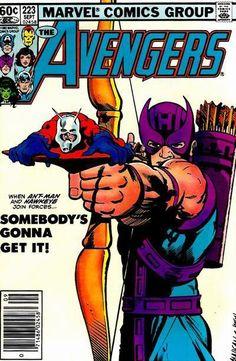 Avengers 223 - Hawkeye & Ant-Man