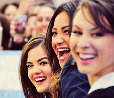 Lucy, Shay and Troian