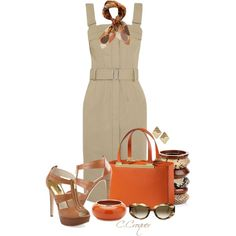 """""""Summer Dress"""" by ccroquer on Polyvore"""