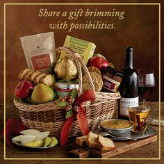 Celebrate the moments that matter with a gift basket filled with handpicked fresh fruit and sweet delights. #gourmetgiftbaskets #giftideas