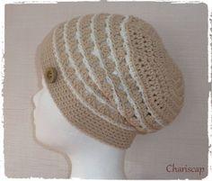 CHARISCAP - Häkelmütze, Beanie aus Baumwolle von Chariscap auf DaWanda.com