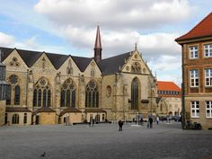 Paderborn Cathedral Paderborn Germany, Barcelona Cathedral, Road Trip, Places To Visit, Photographs, Mansions, House Styles, Building, Blog