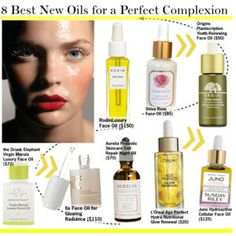 8 Best New Oils for a Perfect Complexion