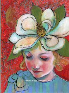 The Magnolia Hat ~ Maria Pace-Wynters