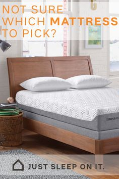 It can be tough deciding on which mattress is the best for your needs. However, it's never been easier to find the best mattresses at Ashley HomeStore. Narrow your search and shop by mattress type, mattress size, mattress comfort level, and more. Cookbook Storage, Bedroom Decor For Teen Girls, Comfort Mattress, Best Mattress, Paint Colors For Home, Cozy Bed, Dream Rooms, Home Bedroom, Bedrooms