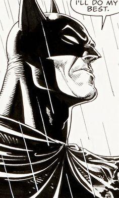 And your best is more than Gotham deserves, sir *salutes the batman* Im Batman, Batman Art, Batman Robin, Superman, Real Batman, Batgirl, Catwoman, Comic Books Art, Comic Art