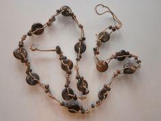 1 Halskette aus Indien Kette Schmuck Hippie Goa Nr.17 neu Folkloreschmuck Ethno