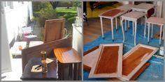 HJERTEHJORT: Gamle Skap eller noe som ble til TAVLER! ReDesign that turned into chalkboards!