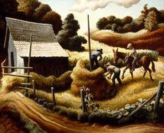 Haystack - Thomas Hart Benton