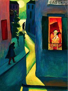 Marianne von Werefkin (1860 - 1938) was a Russian-Swiss Expressionist painter