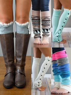 When it's COLD outside, these legwarmers will be your go to item!  Get yours today, shop at www.bootcuffsocks.com now!