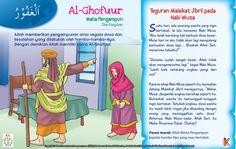 Kisah Asma'ul Husna Al-Ghofuur Kids Story Books, Stories For Kids, Asma Allah, Learn Islam, Islamic Quotes, Quran, Muslim, Itu, Education