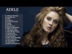Adele 2017, Chasing Pavements, We Are Young, Skyfall, Best Songs, Greatest Hits, Youtube, Live, Music