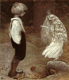The Seven Wishes-John Bauer (1882 – 1918, Swedish)