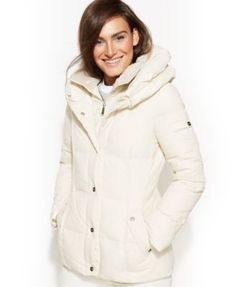 9f03cf3b89a DKNY Pillow-Collar Down Puffer Coat Women - Coats - Macy s
