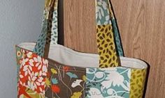 Patchwork Shoulder Bag – Free Sewing Tutorial