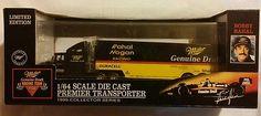 1995-Miller-Rahal-Hogan-DieCast-Transporter $30.40 + FREE SHIPPING