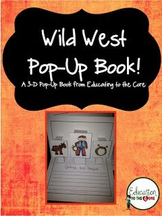 Education to the Core: Cowboys and the Wild West Writing Activity! $