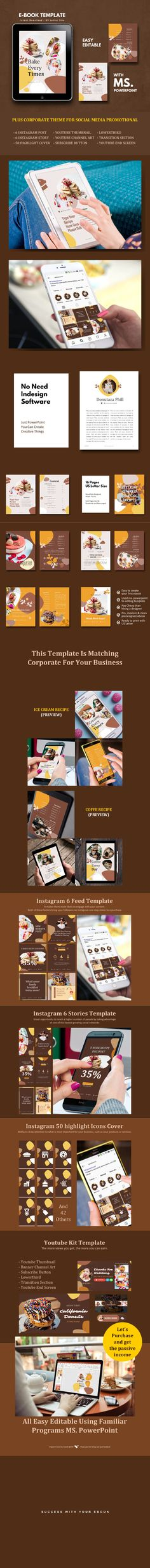 Buy Recipe Book eBook Template by rivatfauziandteams on GraphicRiver. ★ Get 9 bundle Items sheets ebook design template off discount (life time updates!