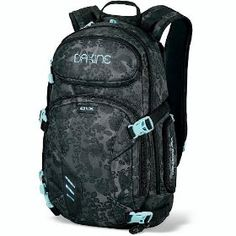 Dakine Women's Heli Pro DLX Pack.  $105.00            The Womens Heli Pro DLX 20L cover the pack storage a range of outside activities with a harness designed specifically for a Womens frame